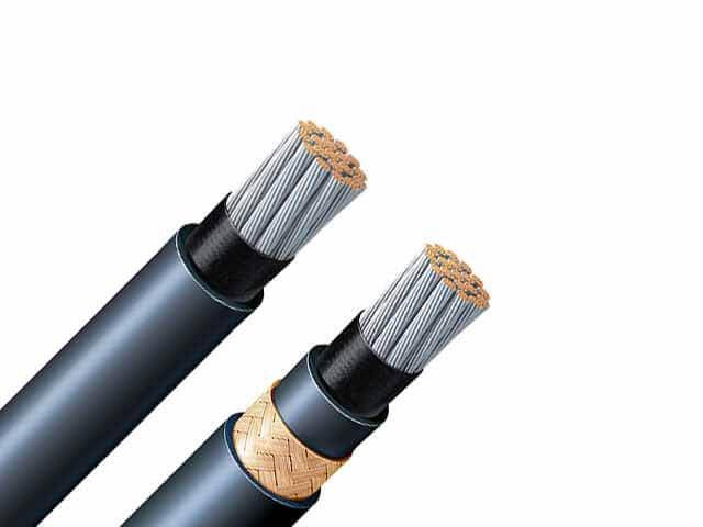 Special precautions for marine cables