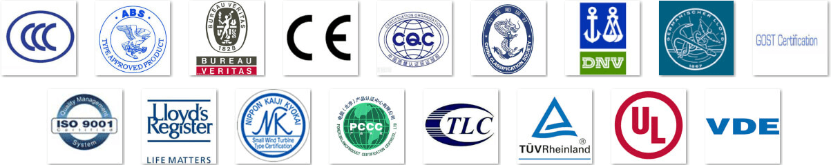 XLPE Cable CERTIFICATIONS