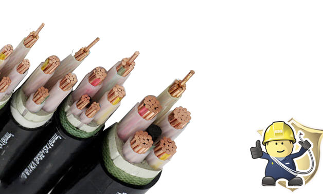 600V 3 core XLPE Cable