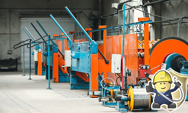 Armoured Cable equipment