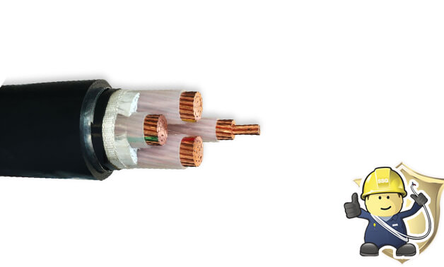 What are the varieties of XLPE armoured cables