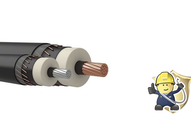 What is the Structure of XLPE insulated armoured power cable