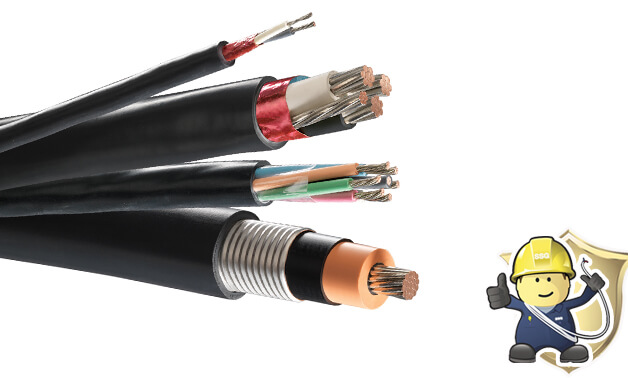 What are the XLPE armoured cables