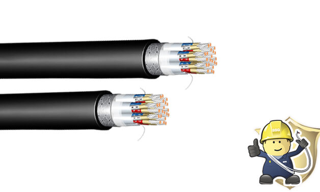 What are the features of XLPE armoured cables