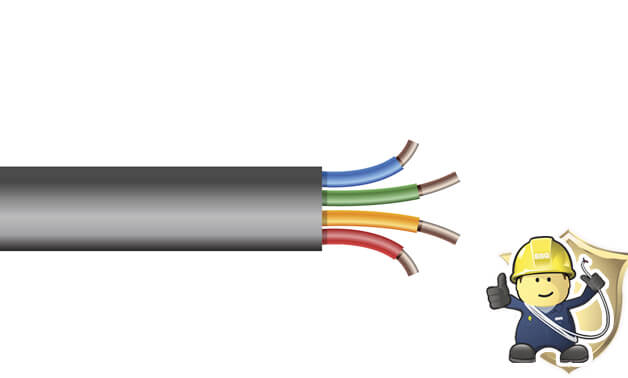 What are the properties of building wire