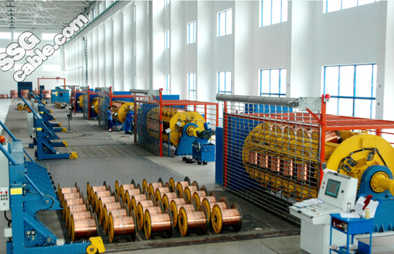 SWA Cable Production line