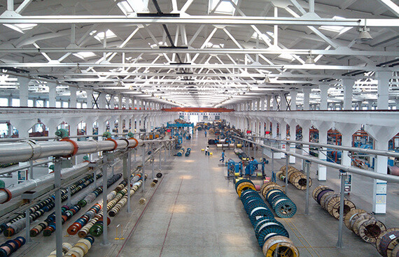 South-voltage cable South Production base 60000 m² tour