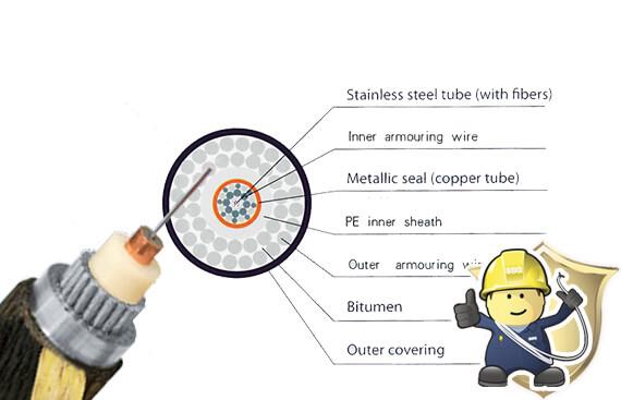 Ocean Fiber Optic Cable