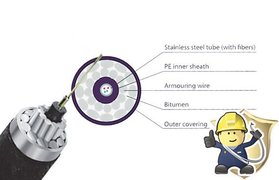 Subsea Fiber Optic Cable